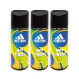 Pack Of 3 Adidas Men Body Spray Get Ready 24H Deodorant Spray 150Ml 5699 Coupon