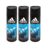 Pack Of 3 Adidas Men Body Spray Ice Dive 24H Deodorant Spray 150Ml 7321 Price Comparison