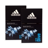 Shop For Pack Of 2 Adidas Men Edt Ice Dive Edt Perfume 100Ml 7498