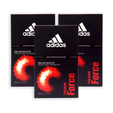 Buy Pack Of 3 Adidas Men Edt Team Force Edt Perfume 100Ml 7597 Adidas