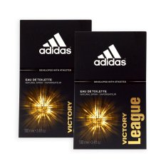 Price Comparisons Pack Of 2 Adidas Men Edt Victory League Edt Perfume 100Ml 7641