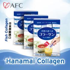 Afc Hanamai Fish Collagen Powder Sachet 30S X 1 5Gm 3 Boxes In Stock
