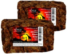 African Black Soap for Acne and Oily Skin