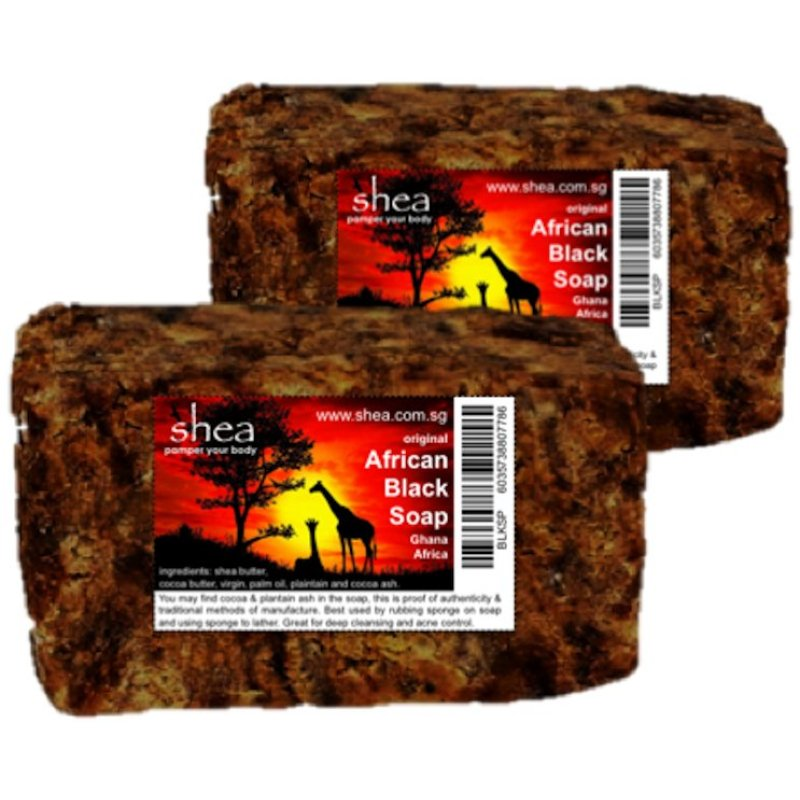 Buy African Black Soap for Acne and Oily Skin Singapore