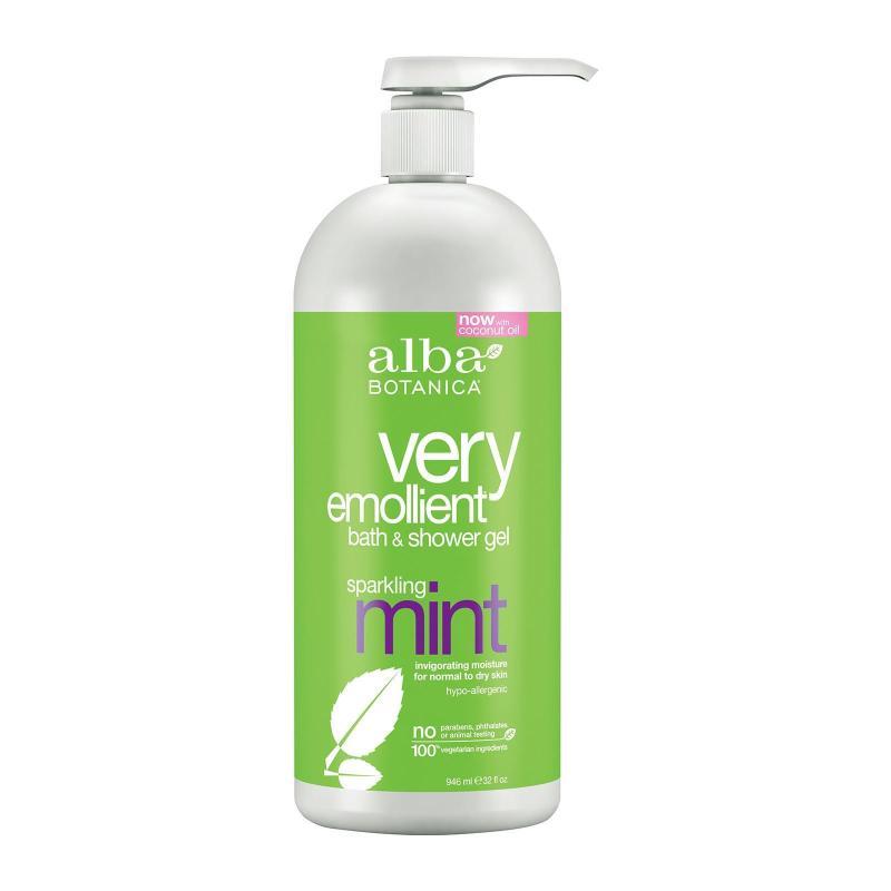 Buy Alba Botanica® Very Emollient Sparkling Mint Bath & Shower Gel 946 ml Singapore