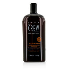 Lowest Price American Crew Men Daily Shampoo For Normal To Oily Hair And Scalp 1000Ml 33 8Oz Intl