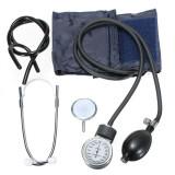 Aneroid *d*lt Size Blood Pressure Bp Cuff Set Sphygmomanometer Stethoscope Kit Intl For Sale Online