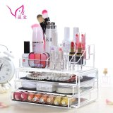 Compare Price Ao B 30 3 Layer Clear Acrylic Cosmetic Drawer Makeup Organizer Intl On China