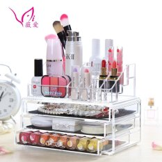 Ao B 30 3 Layer Clear Acrylic Cosmetic Drawer Makeup Organizer Intl Compare Prices