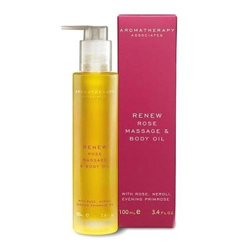 Buy Aromatherapy Associates Renew Rose Massage & Body Oil 3.4oz, 100ml - intl Singapore