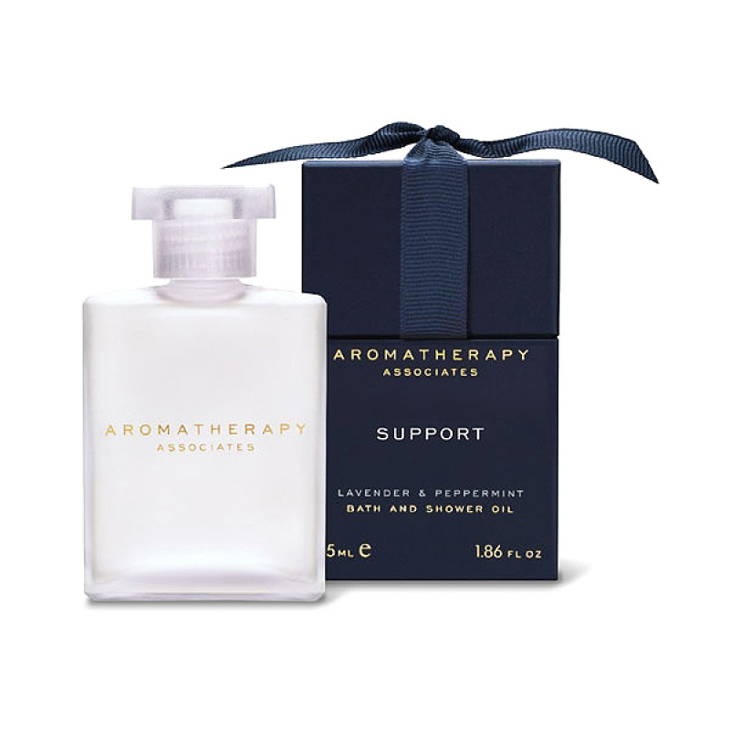 Buy Aromatherapy Associates Support Lavender & Peppermint Bath and Shower Oil 1.86oz/55ml Singapore