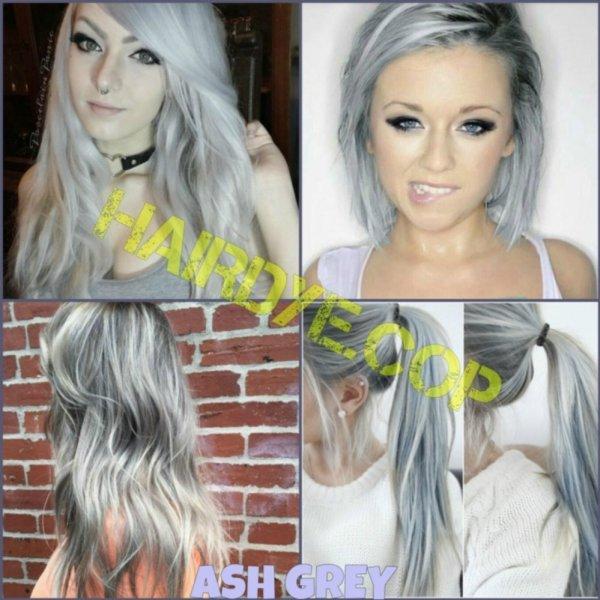 Buy Ash Grey/Silver Blonde Hair Dye Color Singapore