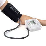 Automatic Digital Lcd Arm Blood Pressure Monitor Lcd Heart Beat Home Sphgmomanometer White Intl On China