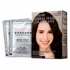 Best Avelon Herbal Hair Colourant 30Mlx3 Packs