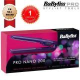New Babyliss 2860Bdu Pro 200 Nano Ceramic Mini Hair Straightener For Travel
