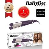 Babyliss St71Pe Hair Straightener Curler 2In1 Titanium Ceramic I Curl Pro 230 With Ion Technology Babyliss Discount