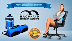 Retail Back Aid Lumbar Back Support