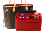 Sale Balen Ciaga Classic City Red Felt Tote Bag Organizer Middle Compartments Purse Insert Cosmetic Makeup Intl Online On China