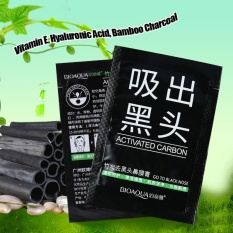 Bamboo Charcoal Mask Blackhead Acne Removal Pore Cleansing Peel-off Nose Mask - intl