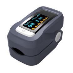 BANGPHY OLED SpO2 HR Fingertip Pulse Oximeter Digital Blood Oxygen Heart Rate Meter Monitor - Grey