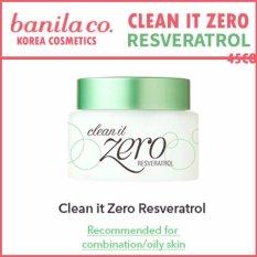 Buy Banila Co Clean It Zero Resveratrol 100Ml Intl