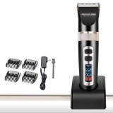 Baorun Lcd Display Electric Hair Clipper Beard Shaver Trimmer 110V 240V Low Battery Reminder Intl On Line