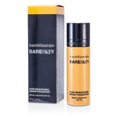 Bareminerals Bareskin Pure Brightening Serum Foundation Spf Bare Buff 30ml By Strawberrynet Sg.