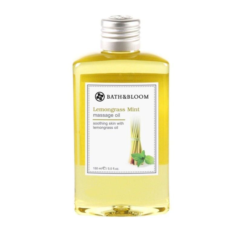 Buy Bath and Bloom Massage Oil Lemongrass Mint Singapore