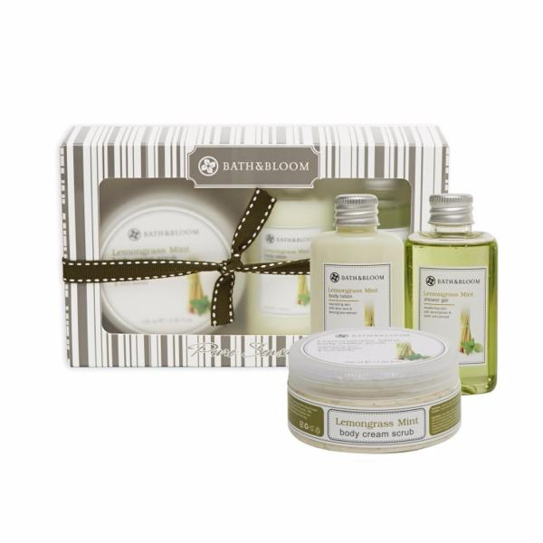 Buy Bath and Bloom Pure Lemongrass Mint Box Set Singapore