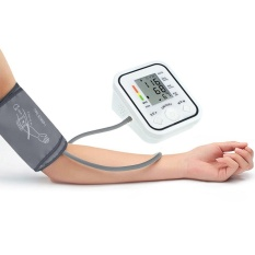 Best Price Beau Bp826 Digital Bp Blood Pressure Monitor Meter Sphygmomanometer Cuff Nonvoice White Intl