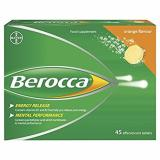 Berocca Performance Orange Flavor On Singapore