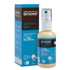 Betadine Sore Throat Spray 50ml By Watsons.