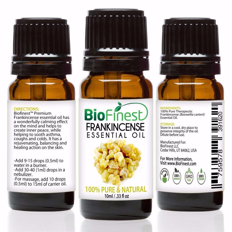 Buy Biofinest [3Packs] Frankincense Essential Oil (100% Pure Therapeutic Grade) 10ml Singapore