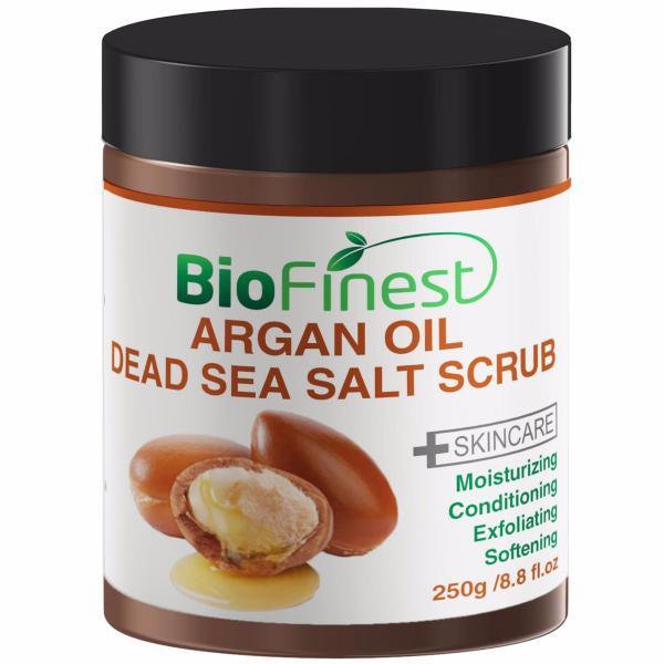 Buy Biofinest Argan Oil Dead See Salt Scrub (100% Pure Organic) 250g Singapore