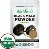 Best Deal Biofinest Black Maca Root Powder 100 Peru Freeze Dried Antioxidant Superfood Usda Certified Organic Kosher Vegan Raw Non Gmo Boost Vitality Endurance For Smoothie Beverage Blend 114G