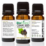 Buy Biofinest Grapeseed Organic Oil 100 Pure Organic Carrier Oil 10Ml Singapore