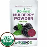 Best Deal Biofinest Mulberry Juice Powder 100 Pure Freeze Dried Antioxidants Superfood Usda Certified Organic Kosher Vegan Raw Non Gmo Boost Digestion Weight Loss For Smoothie Beverage Blend 114G