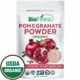 Biofinest Pomegranate Juice Powder 100 Pure Freeze Dried Antioxidants Superfood Usda Certified Organic Kosher Vegan Raw Non Gmo Boost Digestion Skin Care For Smoothie Beverage Blend 114G Deal
