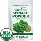 New Biofinest Spinach Powder 100 Pure Freeze Dried Antioxidants Superfood Usda Certified Organic Kosher Vegan Raw Non Gmo Boost Digestion Detox Immune System For Smoothie Beverage Blend 114G