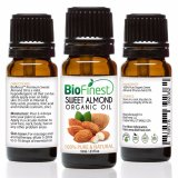 Best Reviews Of Biofinest Sweet Almond Organic Oil 100 Pure Organic Carrier Oil 10Ml