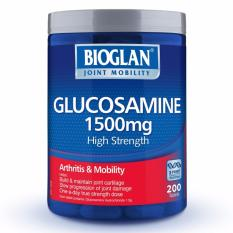 Bioglan Glucosamine 1500mg 200 Tablets October 2021 By Australia Health Warehouse.