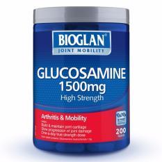 Bioglan Glucosamine 1500mg 200 Tablets October 2021 By Australia Health Warehouse.