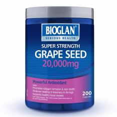 Sales Price Bioglan Grape Seed 20000Mg 200 Capsules