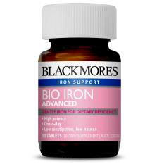 Blackmores Bio Iron Advanced 30 Tablets March 2020 By Australia Health Warehouse.