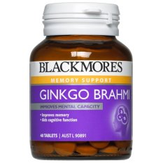 Blackmores Ginkgo Brahmi 40 Tablets February2020 By Australia Health Warehouse.