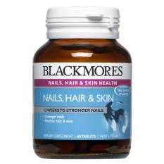 Blackmores Nails Hair & Skin 60 Tablets July 2020 By Australia Health Warehouse.