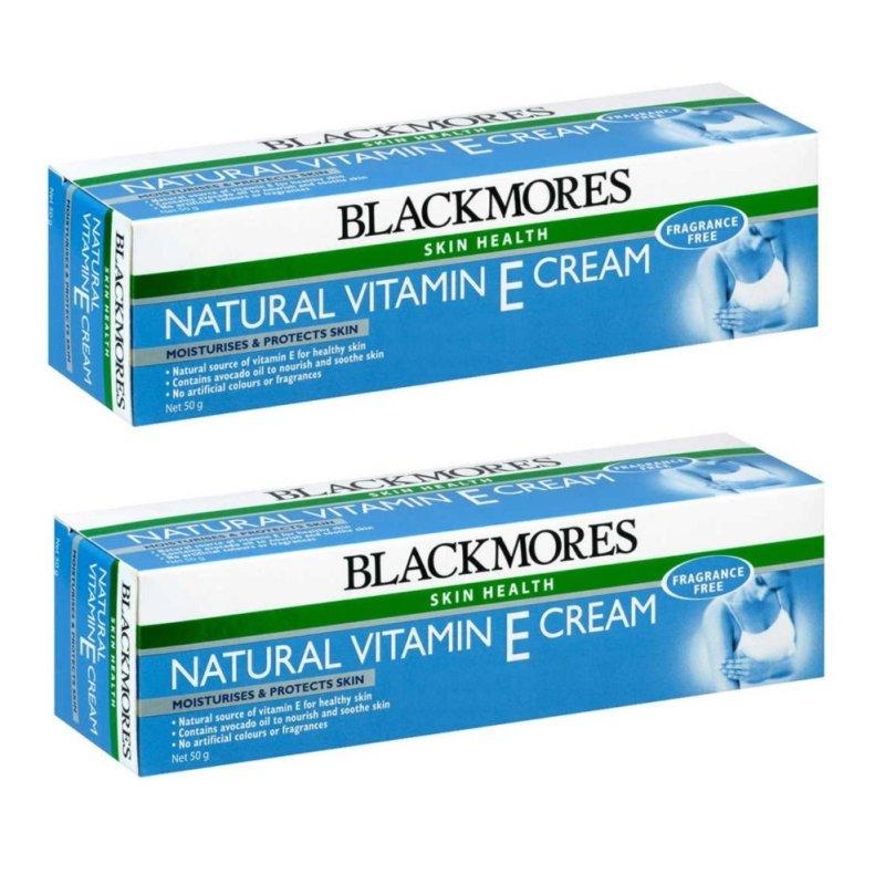 Buy Blackmores Natural Vitamin E Cream 50g (2pcs) - intl Singapore