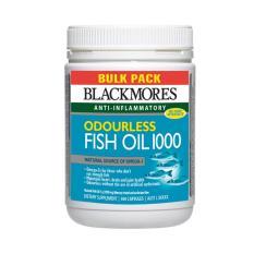Get Cheap Blackmores Odourless Fish Oil 1000Mg Bulk Pack 500 Capsules