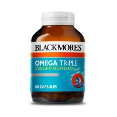 Best Offer Blackmores Omega Triple Concentration Fish Oil 60 Capsules