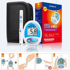 Promo Blood Glucose Instrument Stable Blood Sugar Measuring Instrumenthousehold Measuring Blood Glucose Meter Intl